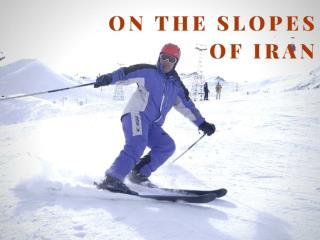 On the slopes of Iran