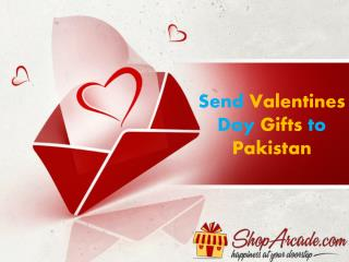 Send Valentines Day Gifts to Pakistan