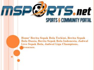 Every Sports News in Front of You