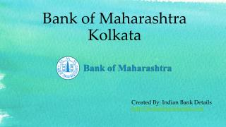 MICR code for Bank of Maharashtra Kolkata