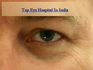 Top eye hospital in India