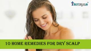 10 Home Remedies for Dry Scalp