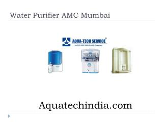 Water Purifier AMC Mumbai