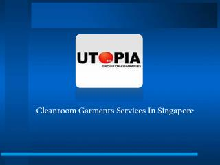 Cleanroom products in singapore