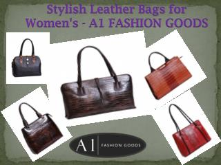 Stylish Leather Bags for Women's - A1 FASHION GOODS