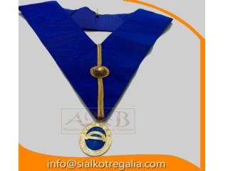 Masonic Craft Grand rank undress collar