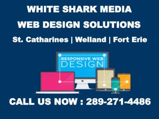 Web Design St. Catharines – White Shark Media