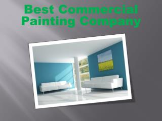 Best Commercial Painting Company