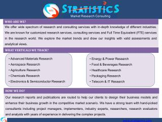 PACKAGING MARKET RESEARCH REPORTS, ANALYSIS & CONSULTING
