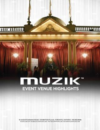 Muzik Clubs event venue highlights