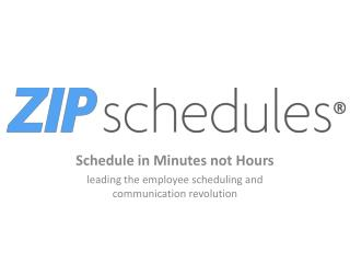 Employee Scheduling and Communication revolution