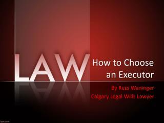 Choosing An Executor