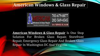 Call Now! Emergency Board up Service for Broken Glass Repair
