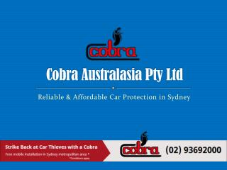 Reliable and Affordable Car Protection in Sydney