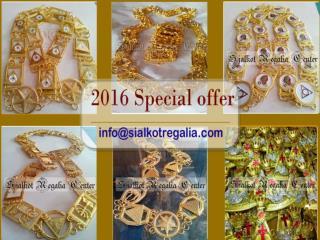 Royal Arch Silver chain collar