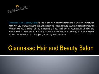 Best Hair Salon In London