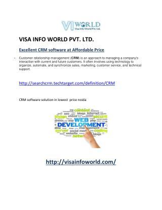 E-mail Marketing Company in Noida India-visainfoworld.com