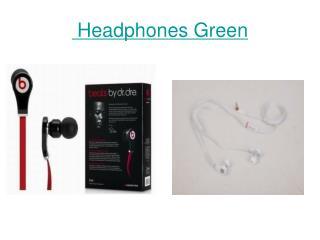 Headphones Green