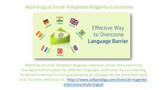Multilingual Email Templates Magento Extensions
