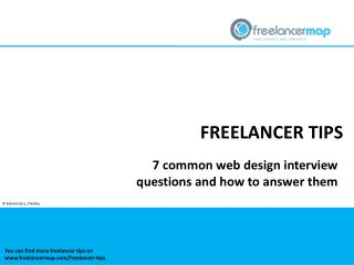 7 web design interview questions and how to answer them