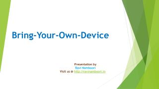 Bring Your Own Device-BYOD