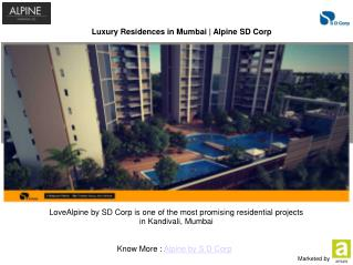 Alpine - 3 BHK Flats in Kandivali for sale