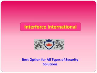 Private Investigator Toronto | Interforce International