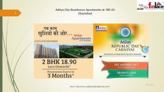 Aditya City Residences Homes at NH-24 Ghaziabad