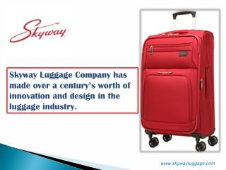 Skyway Luggage collections for Traveler