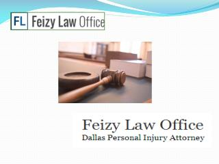Personal Injury Law Firm in Dallas