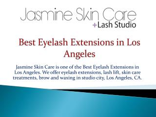 Best Eyelash Extensions in Los Angeles