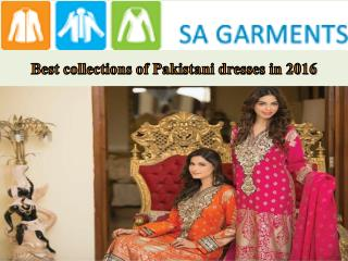 Pakistani party wear dress lets you get the desired look