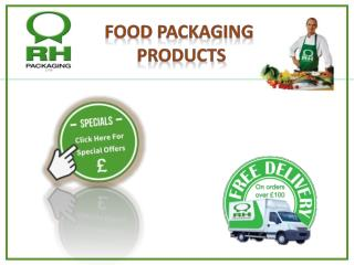 Buy online Food packaging products,Eco Cutlery and Deli Pots