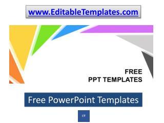 Editabletemplates.com – Free PowerPoint Templates