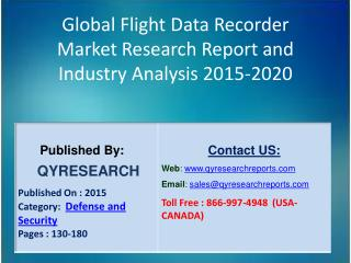 Global Flight Data Recorder Market 2015 Industry Growth, Trends, Development, Research and  Analysis