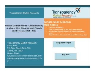 Medical Courier Market - Global Industry Analysis, Size, Share, Growth, Trends and Forecast, 2014 - 2020