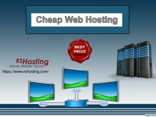 Cheap Web Hosting - RS Hosting