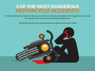 5 of the most dangerous motorcycle accidents