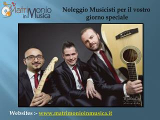 Matrimonio Musica - Idee per Matrimonio Fasce