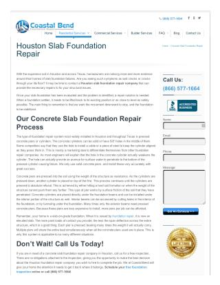 Slab Foundation Repair Service In Houston