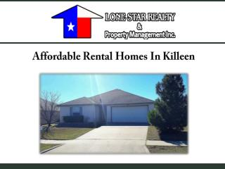 Affordable Rental Homes In Killeen
