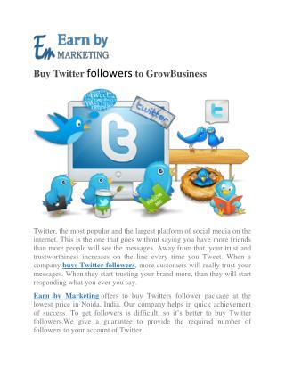 Buy Instagram follower at lowest price Noida India-earnbymarketing.com