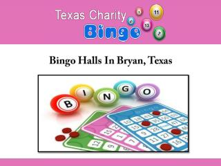 Bingo Halls In Bryan, Texas