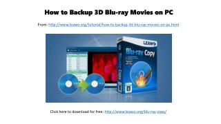 Edit Privacy Settings Analytics FREE Collect Leads How to backup 3d blu ray movies on pc
