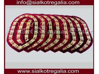 Masonic regalia Shrine Chain collar