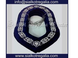 Masonic regalia Past master chain collar