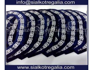 Masonic Past Master chain collar Silver