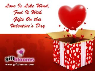 Shop online with distinctive Valentine Gift Collection from Giftblooms