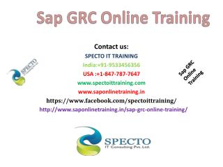sap grc online training in usa,malaysia,uk