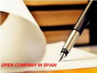 5 Things to Check Ahead of Open Company in Spain
